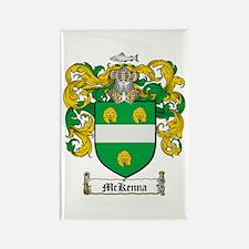 McKenna Family Crest Rectangle Magnet (10 pack)
