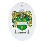 McKenna Family Crest Oval Ornament