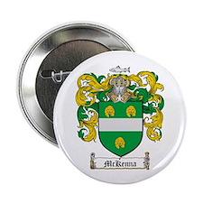 """McKenna Family Crest 2.25"""" Button (100 pack)"""