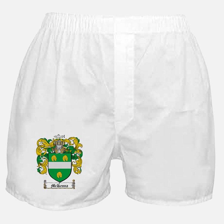 McKenna Family Crest Boxer Shorts