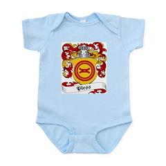 Pless Family Crest Infant Creeper