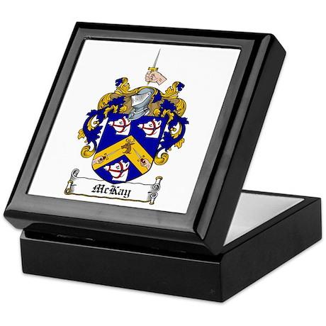 McKay Family Crest Keepsake Box