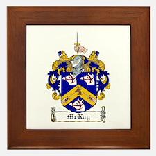 McKay Family Crest Framed Tile