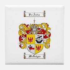McIntyre Family Crest Tile Coaster