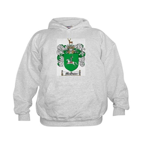 McGuire Family Crest Kids Hoodie