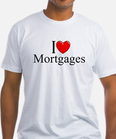 """I Love (Heart) Mortgages"" Shirt"