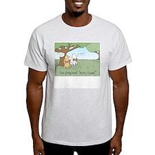 "The Original ""Spitz Breed"" Ash Grey T-Shirt"