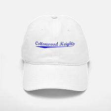Vintage Cottonwood.. (Blue) Baseball Baseball Cap