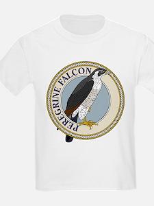 Peregrine Falcon Kids T-Shirt