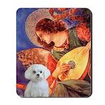 Mandolin Angel / Maltese Mousepad