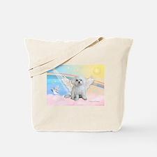 Maltese / Angel Tote Bag