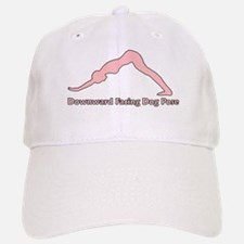 Downward Facing Dog Pose Baseball Baseball Cap