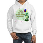 Most Birthdays Hooded Sweatshirt