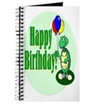 Happy Birthday Turtle Journal