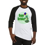 Happy Birthday Turtle Baseball Jersey