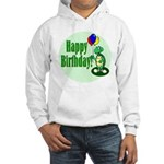 Happy Birthday Turtle Hooded Sweatshirt