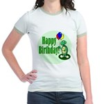 Happy Birthday Turtle Jr. Ringer T-Shirt