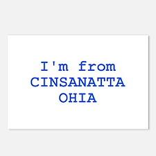 Cinsanatta Ohia Postcards (Package of 8)