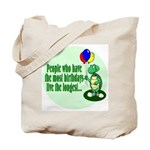 Birthday Turtle Tote Bag
