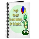 Birthday Turtle Journal