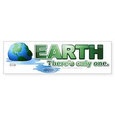 Earth Melt Bumper Bumper Bumper Sticker