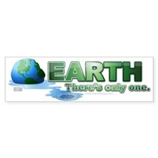 Earth Melt Bumper Bumper Sticker