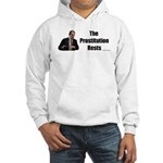 Spitzer The Prostitution Rests Hooded Sweatshirt