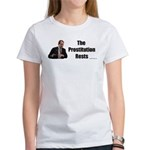 Spitzer The Prostitution Rests Women's T-Shirt