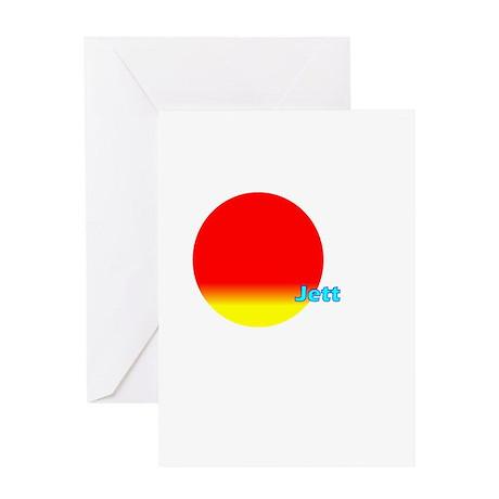 Jett Greeting Card