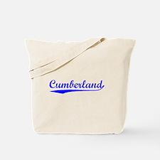 Vintage Cumberland (Blue) Tote Bag