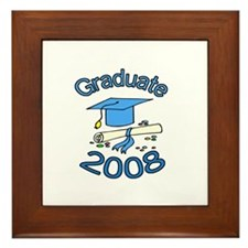 08 Graduate Framed Tile