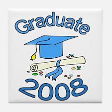 08 Graduate Tile Coaster