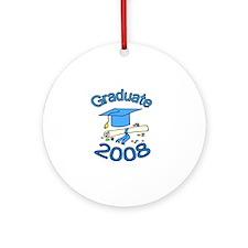 08 Graduate Ornament (Round)