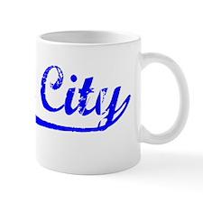 Vintage Daly City (Blue) Mug