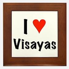 I love Visayas Framed Tile