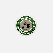 Local Coffeehouse Mini Button
