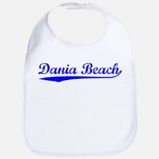 Vintage Dania Beach (Blue) Bib