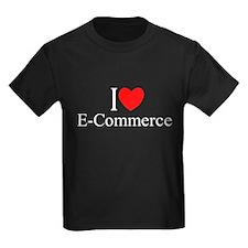 """I Love (Heart) E-Commerce"" T"