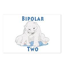 Bipolar II Bears Postcards (Package of 8)