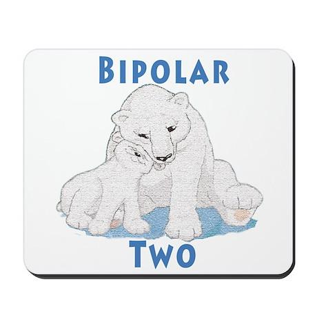 Bipolar II Bears Mousepad