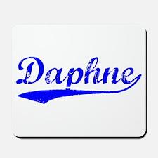 Vintage Daphne (Blue) Mousepad