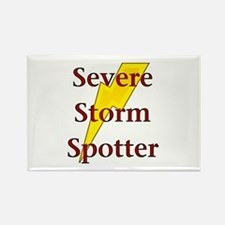 Severe Storm Spotter Rectangle Magnet