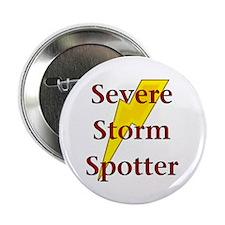 "Severe Storm Spotter 2.25"" Button"