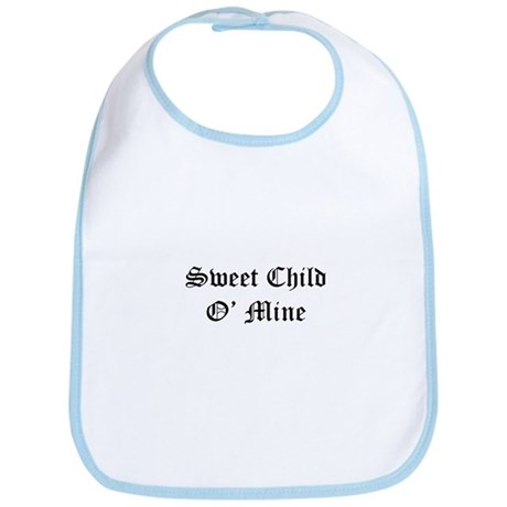 Sweet Child O' Mine Bib