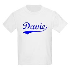 Vintage Davie (Blue) T-Shirt