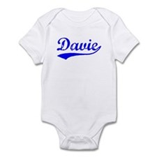 Vintage Davie (Blue) Infant Bodysuit