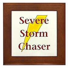 Severe Storm Chaser Framed Tile