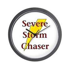 Severe Storm Chaser Wall Clock
