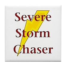 Severe Storm Chaser Tile Coaster