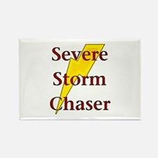 Severe Storm Chaser Rectangle Magnet